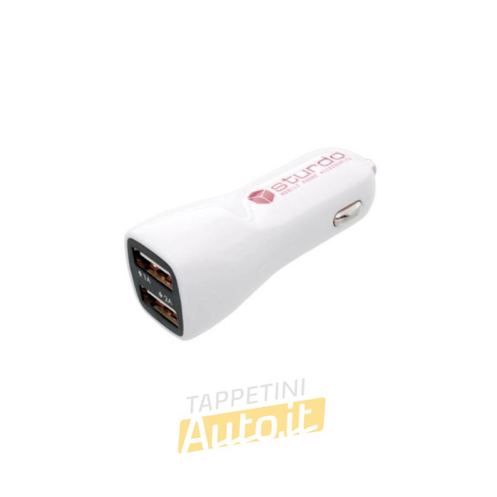 Caricabatteria Auto USB, 2A