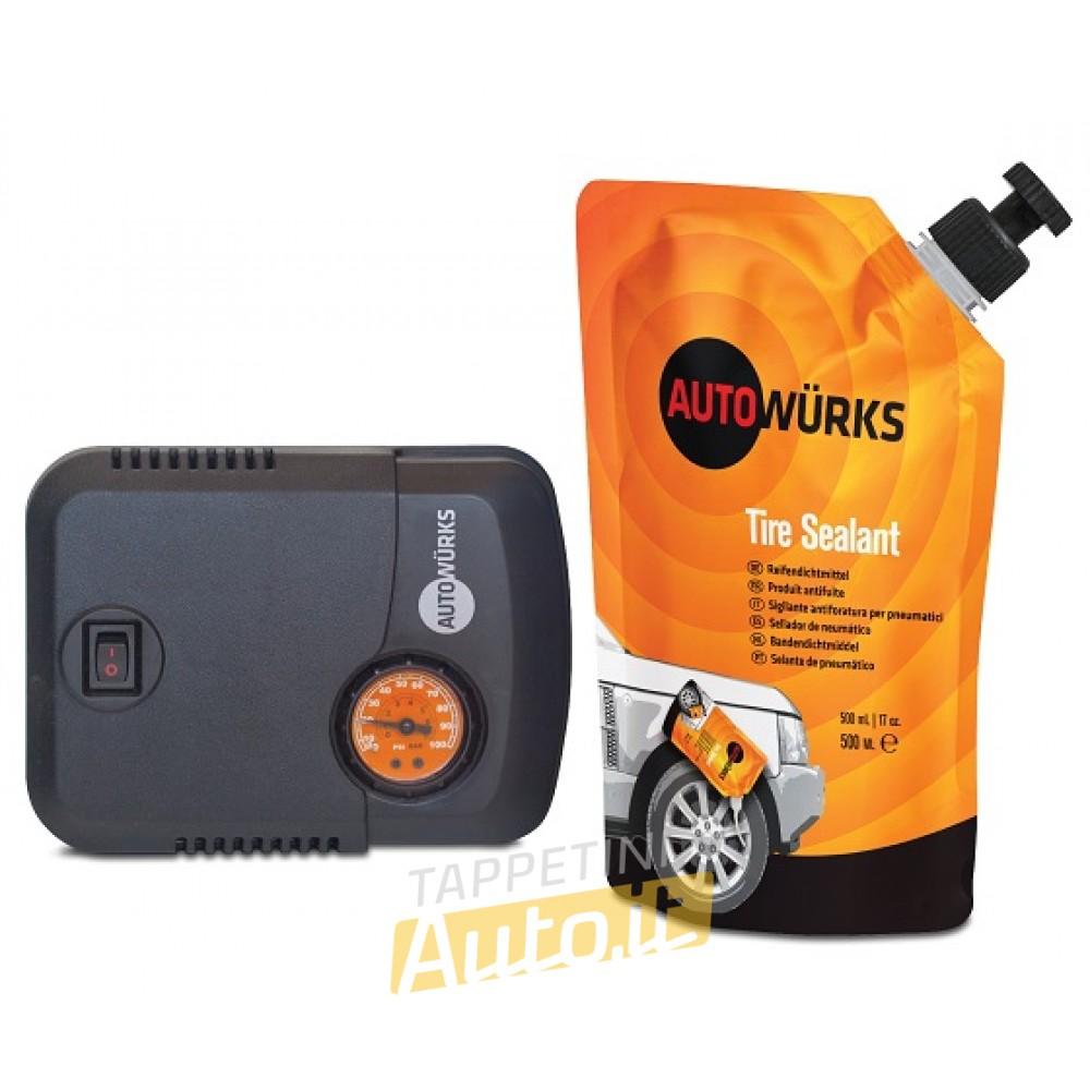 Kit di Riparazione pneumatici TRK500