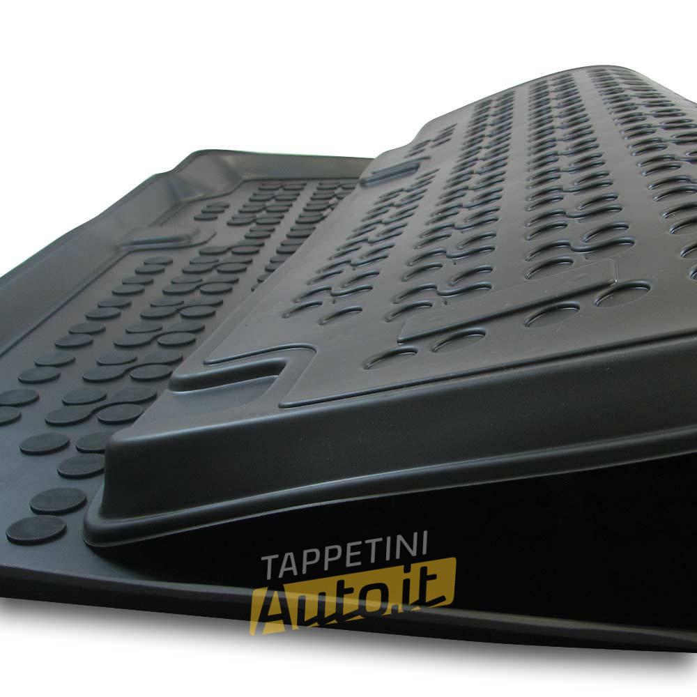 Tappetino IN GOMMA VASCA Tappetino bagagliaio per VW Touareg II dal 2014